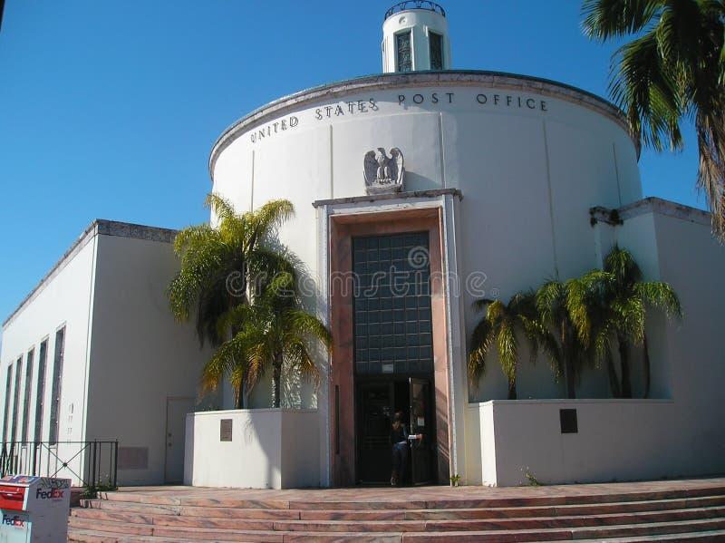 Почтамт Miami Beach (33119) стоковое изображение rf