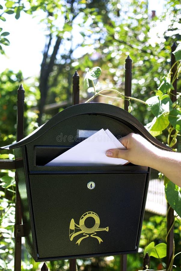 почта поставки стоковые фото