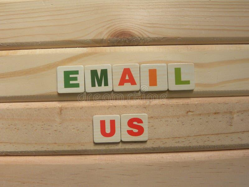Почта Word стоковые фотографии rf