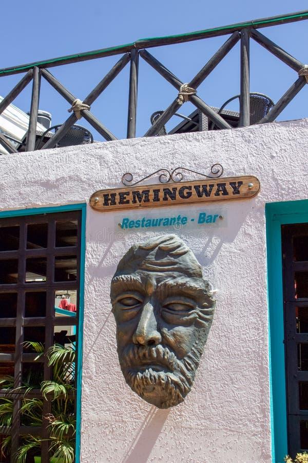 Почтение Hemingway стоковое фото