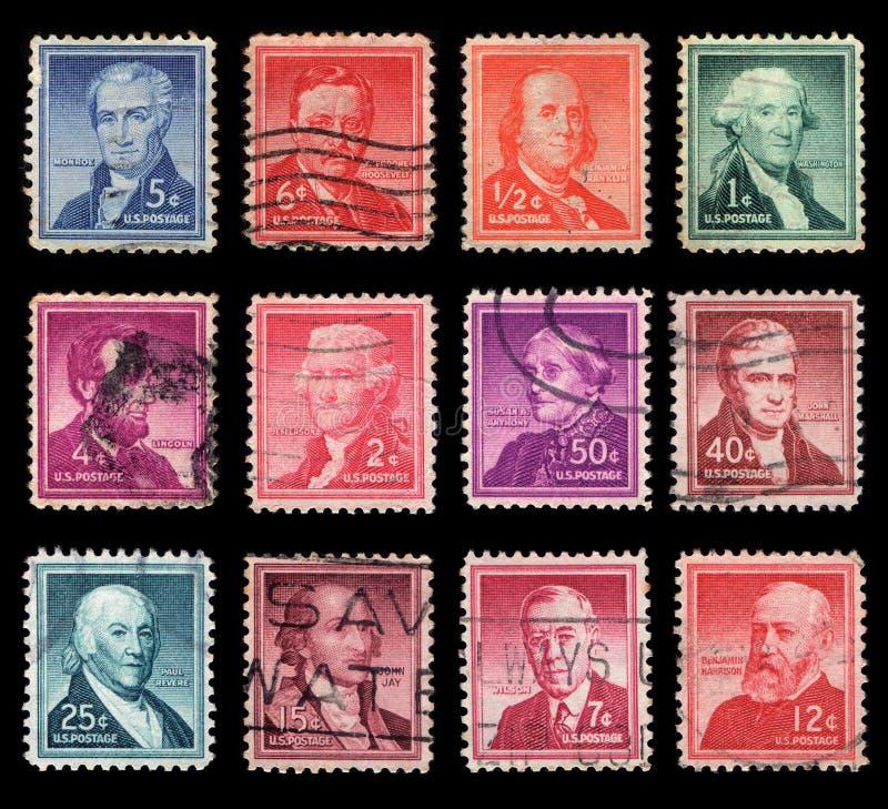 Почтовая оплата США стоковые изображения
