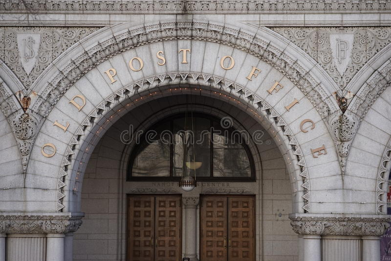 Почтовое отделение Вашингтон стоковое изображение
