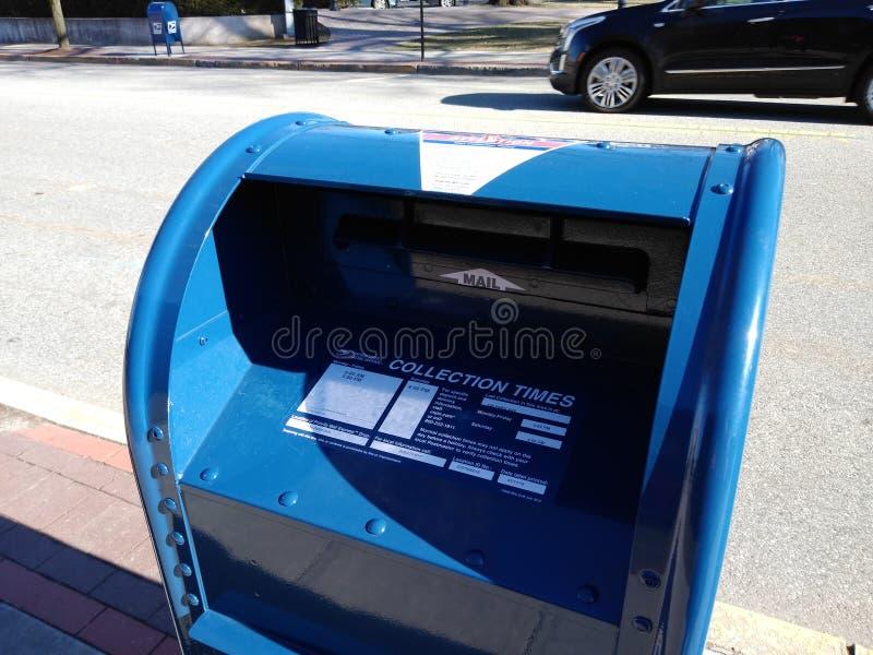 Почтовые ящики почтового ящика, новых и безопасного, резерфорд, NJ, США стоковые изображения rf