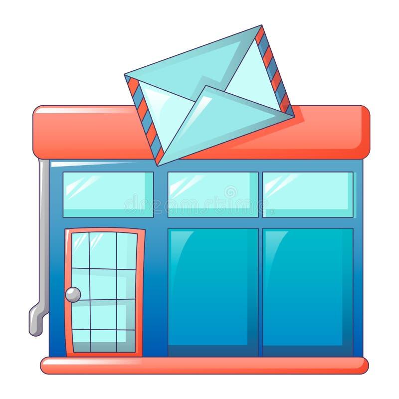 Почтовый значок офиса, стиль шаржа бесплатная иллюстрация