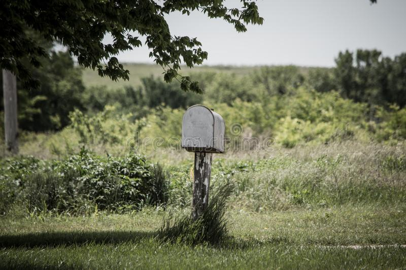 почтовый ящик сельский стоковые фотографии rf