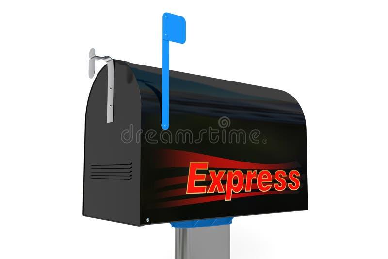 Почтовый ящик срочный стоковые изображения rf