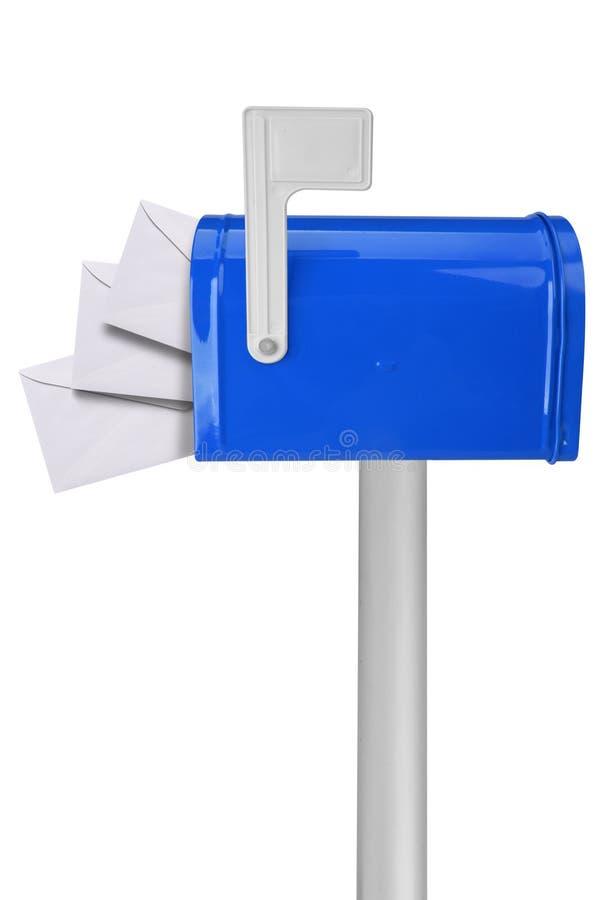 почтовый ящик флага габаритов стоковое фото