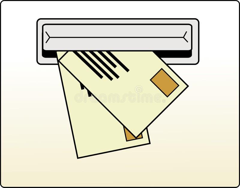 почтовый ящик иллюстрация штока