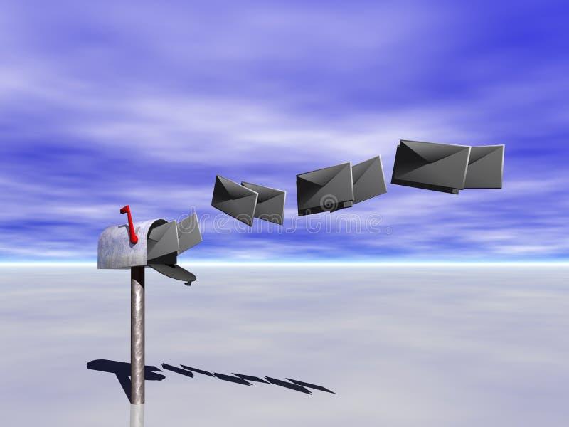 почтовый ящик иллюстрация вектора