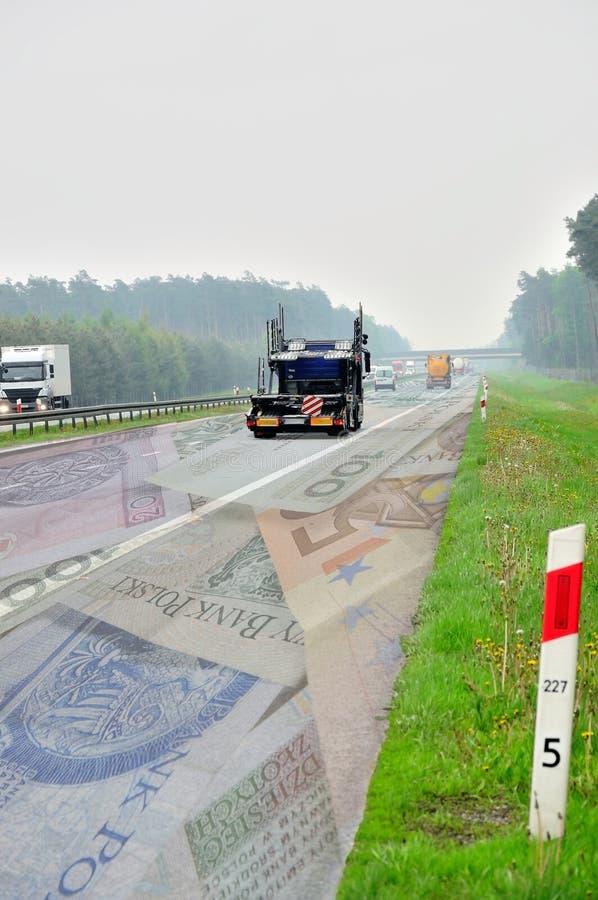пошлина дороги стоковое изображение rf