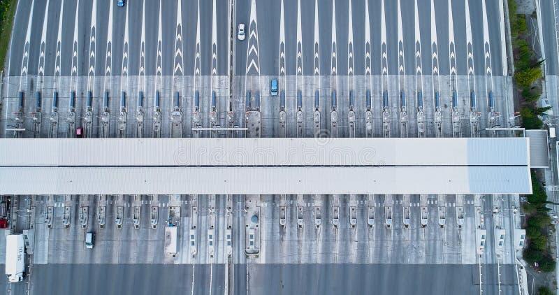 Пошлина на шоссе стоковая фотография