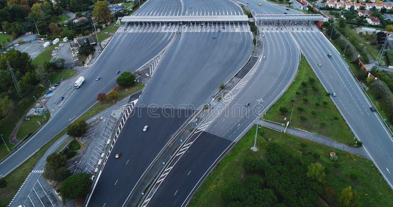 Пошлина на шоссе стоковые изображения rf