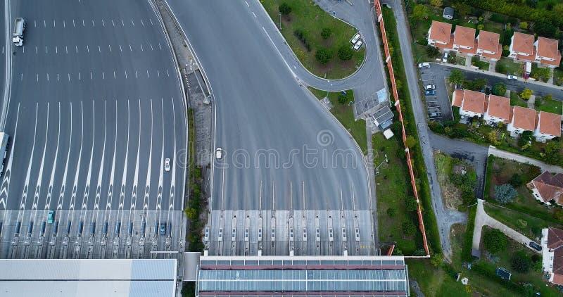 Пошлина на шоссе стоковое фото rf
