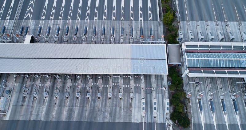 Пошлина на шоссе стоковые фотографии rf