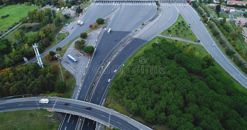 Пошлина на шоссе стоковые изображения