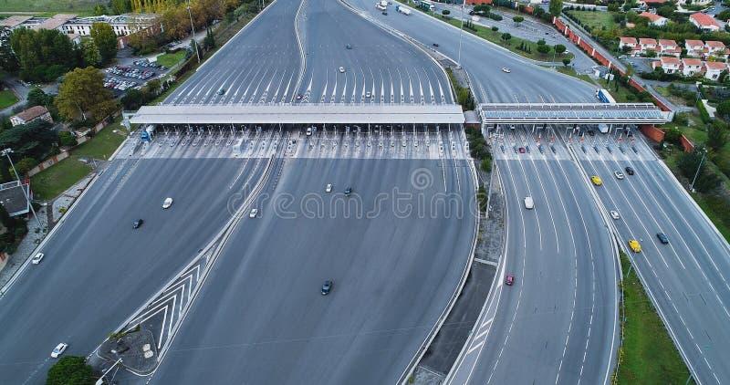 Пошлина на шоссе стоковая фотография rf