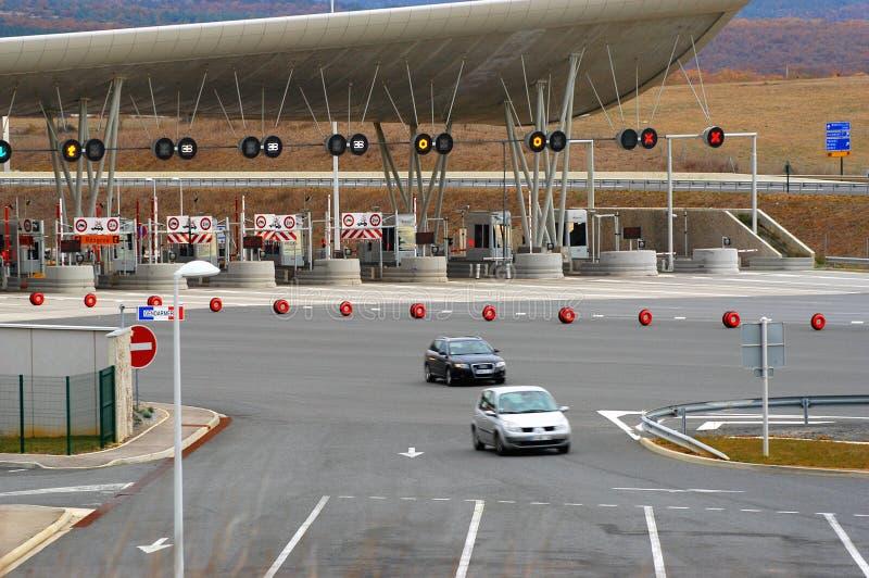 Пошлина шоссе стоковые изображения rf