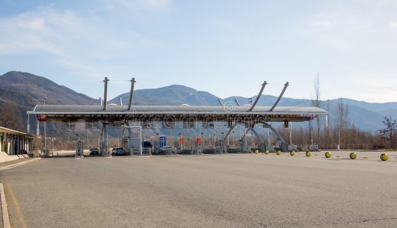 Пошлина шоссе стоковое изображение rf