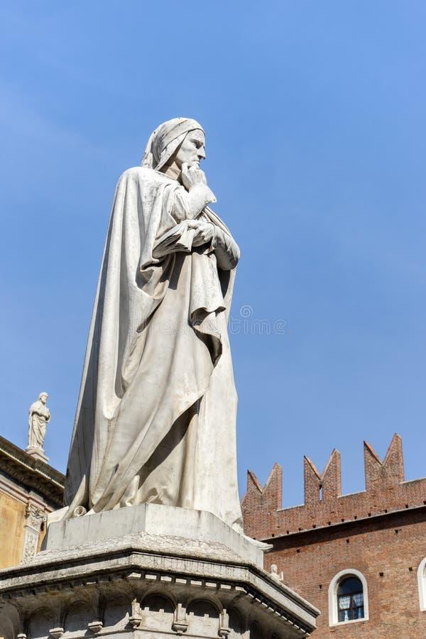 Поэт и философ Dante стоковая фотография rf