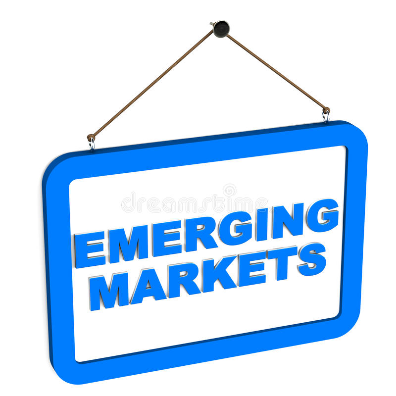 Появляющийся рынок бесплатная иллюстрация