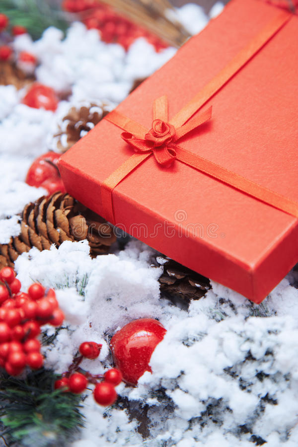 Подарок Кристмас стоковые фото