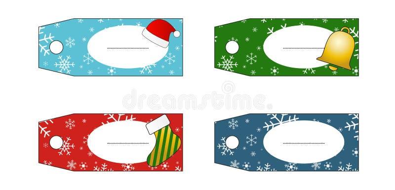 Подарок маркирует (ярлыки) иллюстрация вектора
