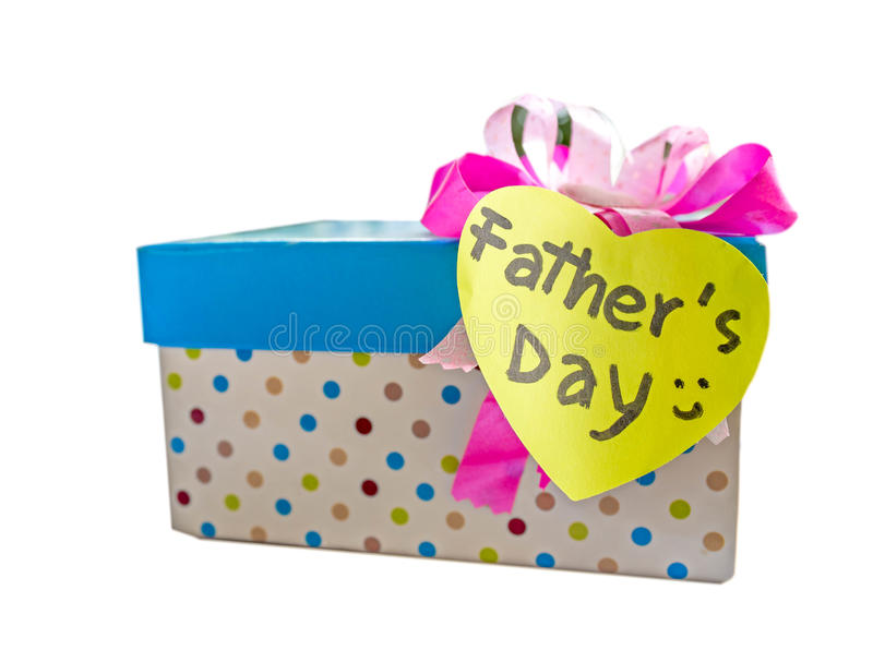 Подарок на День отца стоковые фотографии rf
