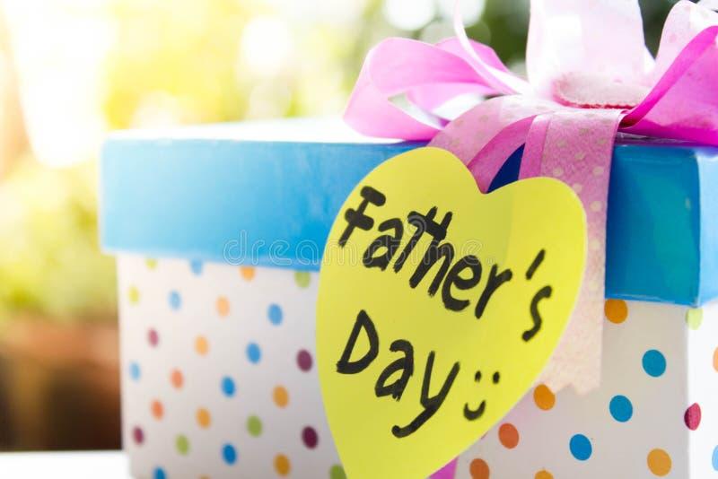 Подарок на День отца стоковое фото rf