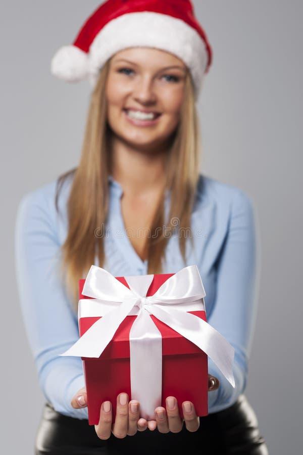 Подарок для вас! стоковая фотография