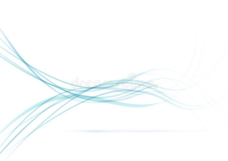 Подача дыма над белой предпосылкой бесплатная иллюстрация