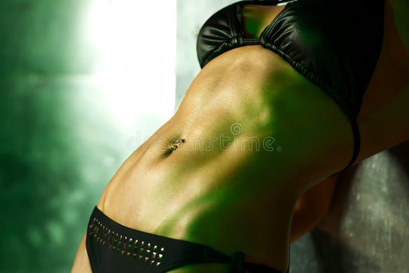 Подбрюшные мышцы стоковое изображение rf