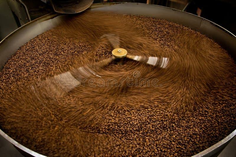 Подвергните механической обработке для кофе жарить в духовке стоковая фотография rf