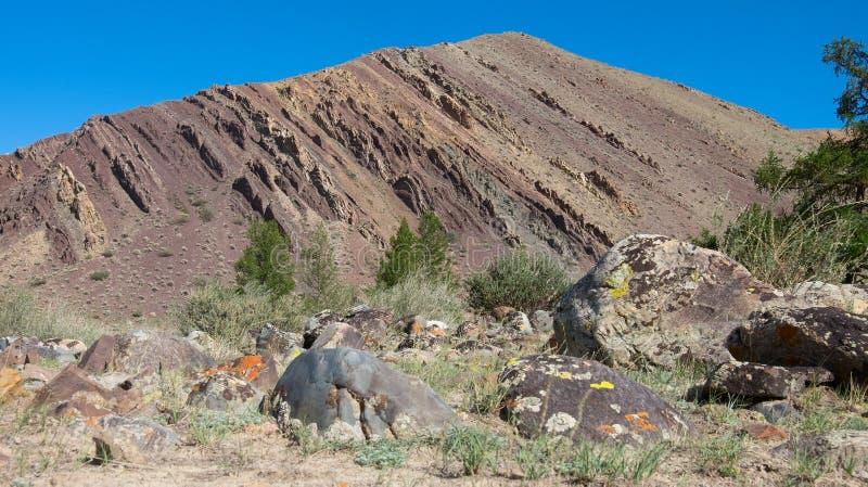 Подвергли действию геологохимические слои стоковая фотография rf