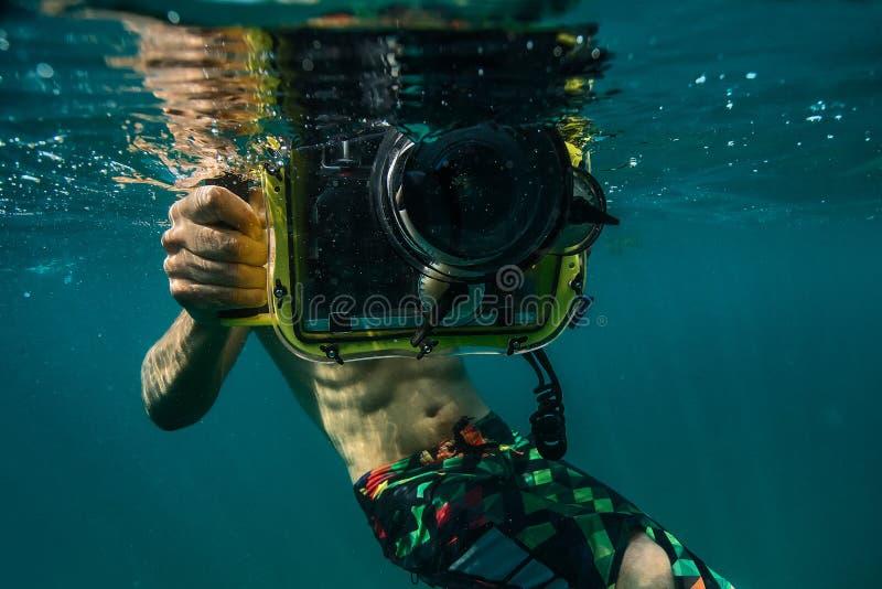 Подводное фото стоковое изображение rf
