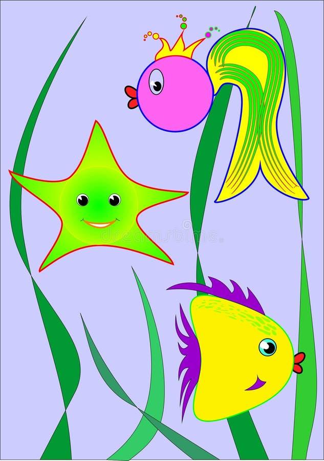 Подводные друзья стоковое фото