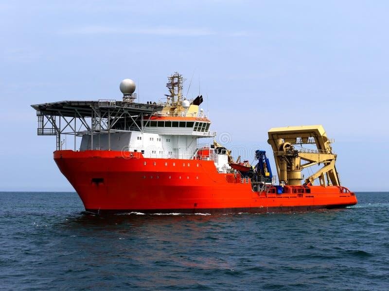Подводный сосуд подныривания стоковые изображения rf