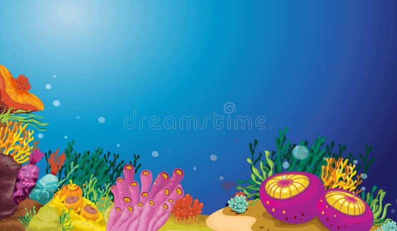 Подводный иллюстрация штока
