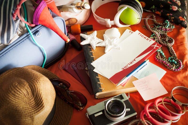 Подготавливайте на летний отпуск стоковые фото