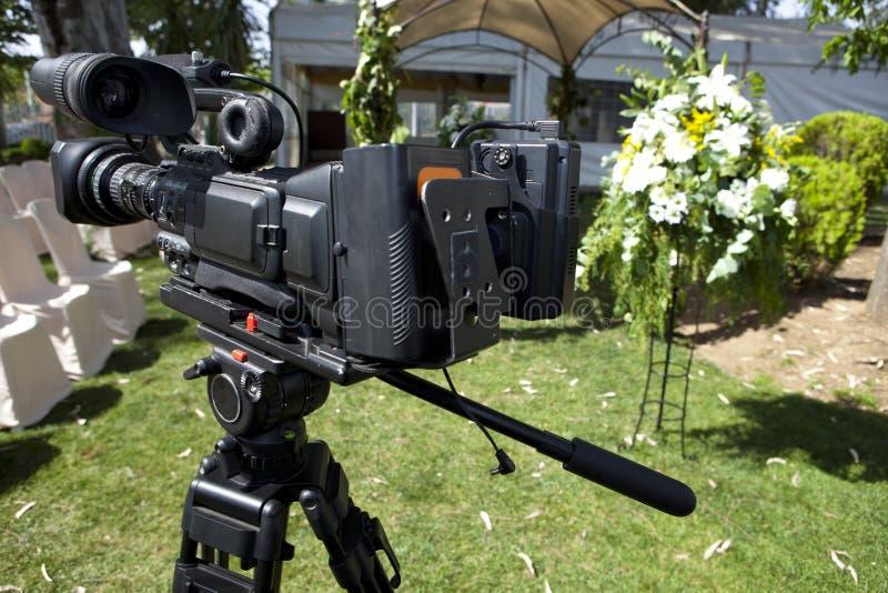 Подготавливайте для записывать следующую свадьбу стоковая фотография
