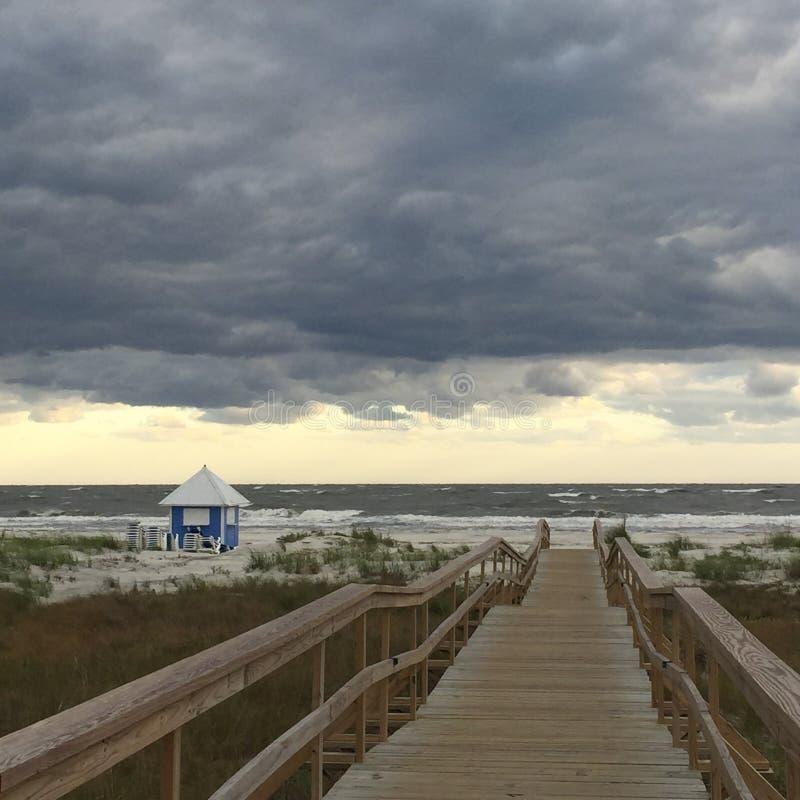 Подготавливайте для того чтобы получить к пляжу стоковые изображения