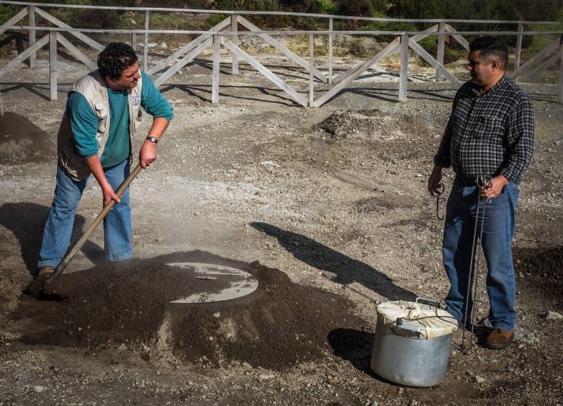 Подготавливать тушёное мясо Furnas стоковые фото
