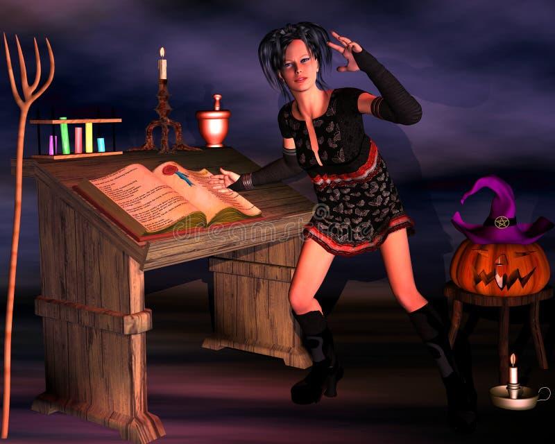 Подготовки на хеллоуин стоковые фото