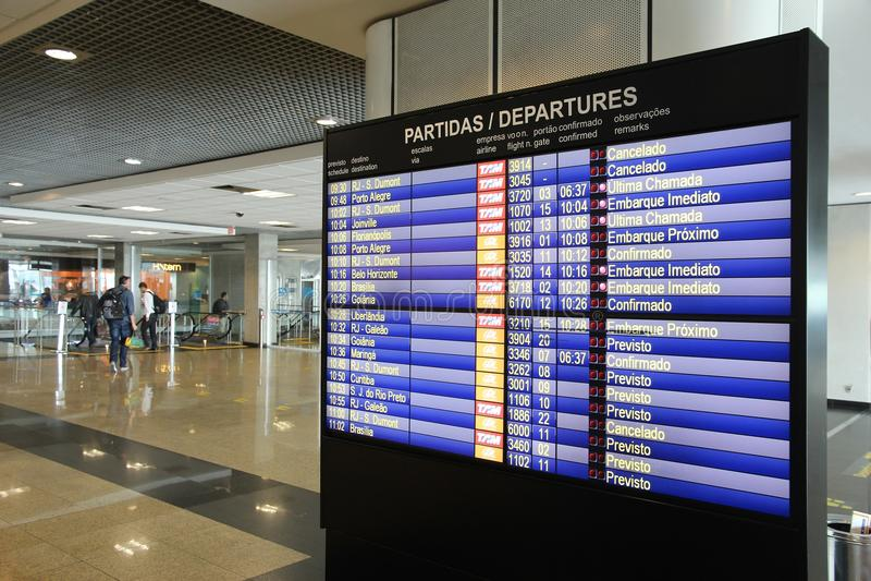 Полеты Бразилии стоковые фото