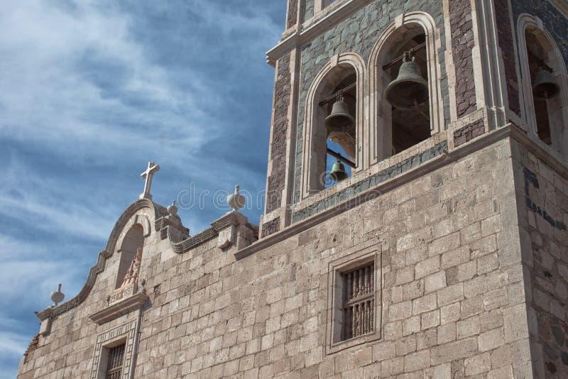 Полет в Loreto, Мексику стоковые фото
