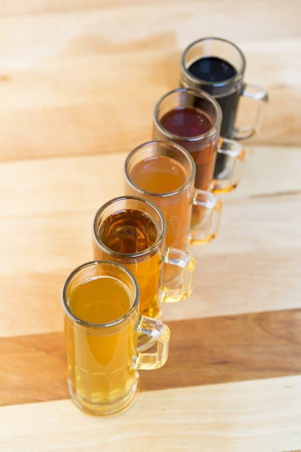 Полет пива стоковое фото