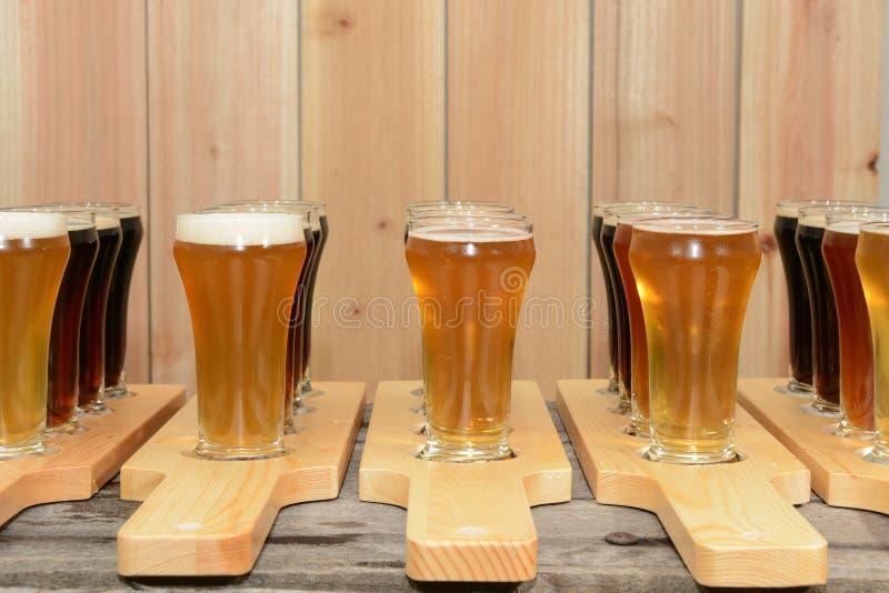 Полет пива стоковая фотография rf
