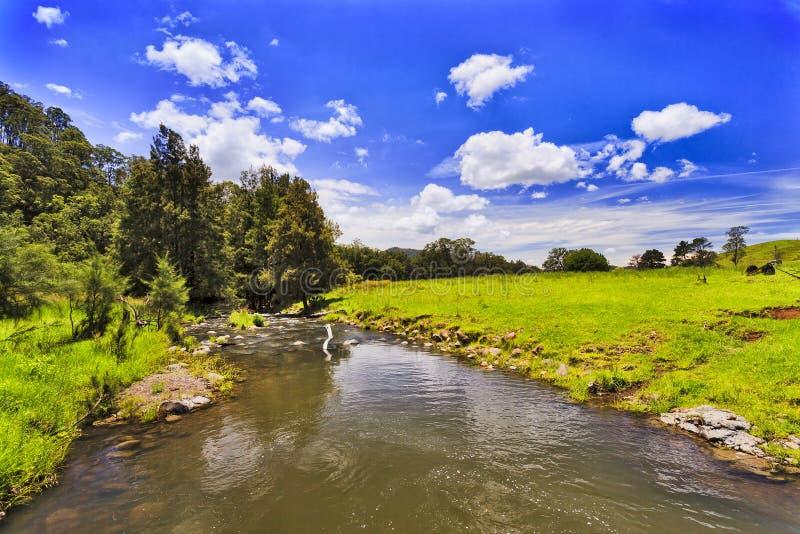 Поле реки BTOps Cobark выше стоковые изображения