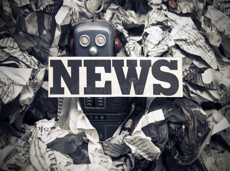 Поддельные новости стоковое изображение