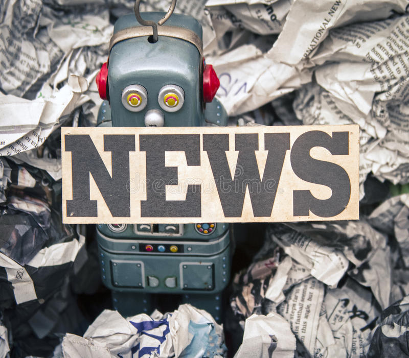 Поддельные новости стоковые изображения
