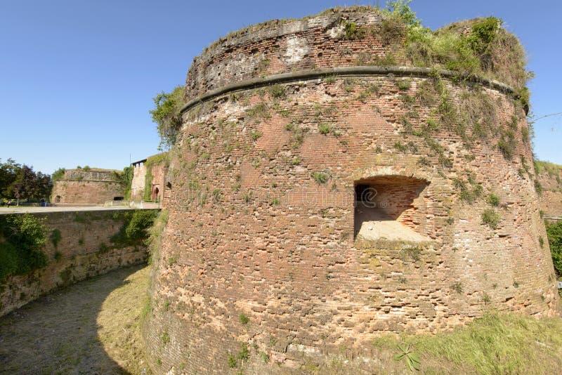 Подземелье замка, Casale Monferrato, Италия стоковые фото